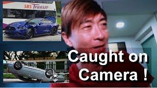 Surprise mobile speed camera * Singapore traffic Police