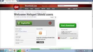 How to Download and Install Hotspot Shield for Windows 7