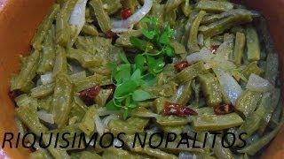 Ricos Nopales Con Oregano ( Los Angeles Cocinan )