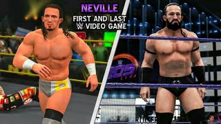 PAC (Neville) First and Last WWE Game