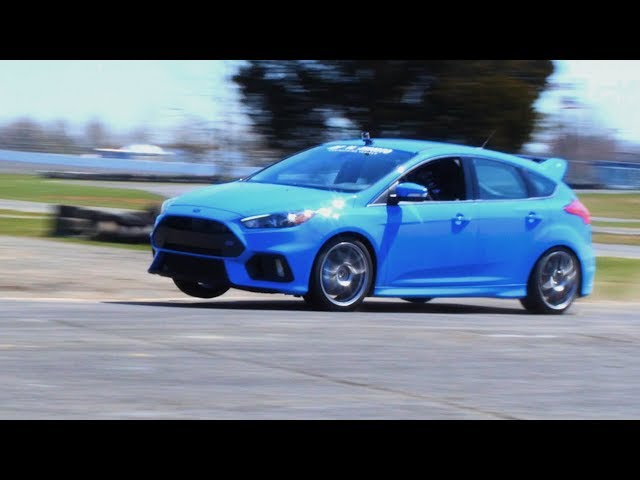 Track Day Final: 2016+ Ford Focus RS Differential Cooler Kit by Mishimoto