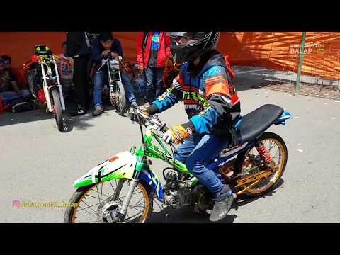 Suasana paddock dragbike purwodadi 8 april 2018