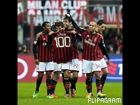 Kakà 100 gol (milan-atalanta 3-0)