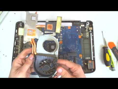 Acer Aspire 5738 Series Disassembly / FAN Cleaning