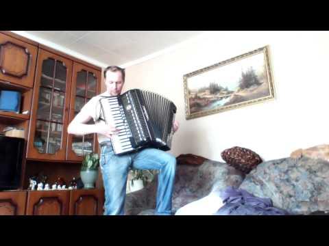 Тихонов Пушинка, аккордеон, играет выпускник муз.училища