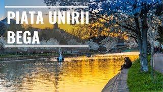 Timisoara Tur in 3 minute Piata Unirii - Bega
