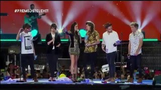 One Direction en los Premios Telehit 2015