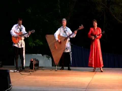 Balalaika Trio New York Somewhere My Love Lara's Theme Dr. Zhivago