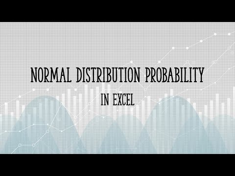 Normal Distribution Probability in Excel: All Versions up to 2016