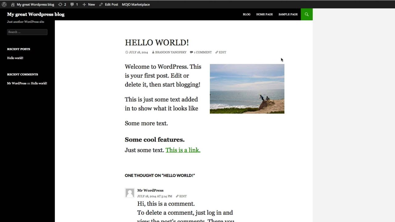 How to Change Font Family and Font Size in WordPress with CSS ...