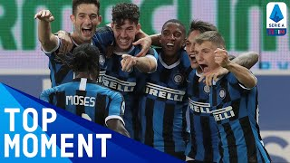 Victor Moses Sets Up Bastoni For The Winner!   Parma 1-2 Inter   Top Moment   Serie A Tim
