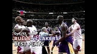 December 17, 1996 Bulls vs Lakers highlights
