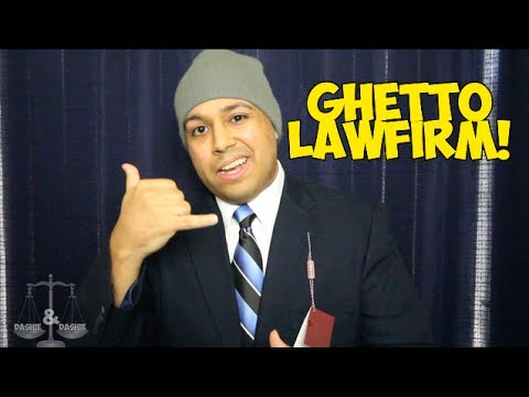 GHETTO LAW FIRM COMMERCIAL!