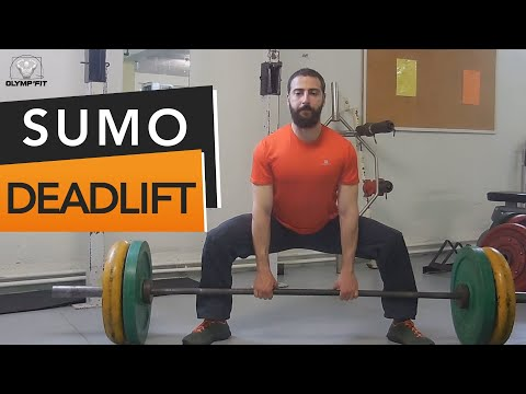 Soulevé de Terre (deadlift) SUMO : Technique de placement