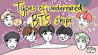 Baixar types of underrated bts ships