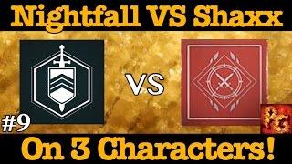 destiny nightfall vs shaxx bounty x3 which gives better loot week 9