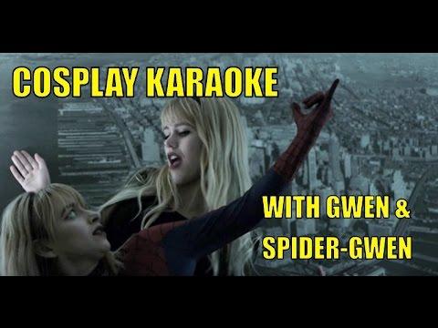 """Spider-Gwen & Gwen Stacy Stefani - """"SPIDERWEBS"""" - COSPLAY KARAOKE"""