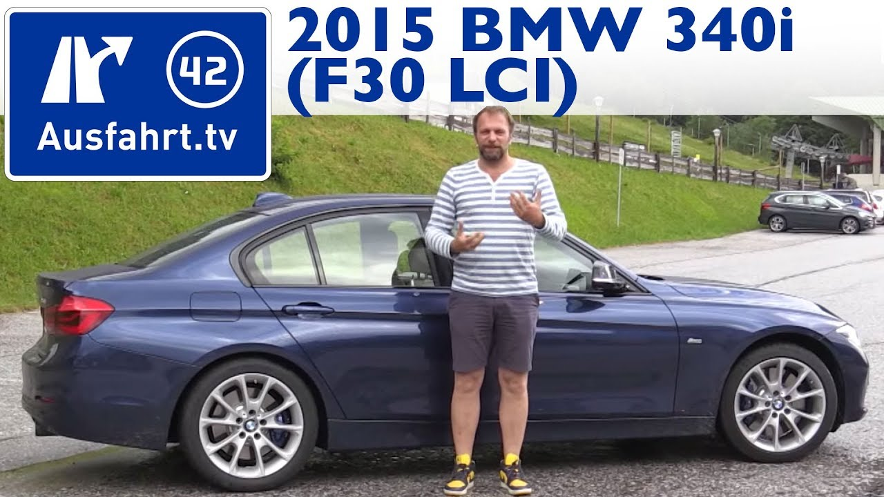 2015 bmw 340i f30 lci kaufberatung test review youtube. Black Bedroom Furniture Sets. Home Design Ideas