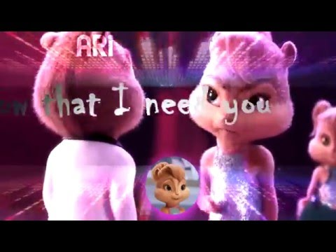 Chipmunks & Chipettes - Bad Romance (Lyric Video) [HBD Felix]