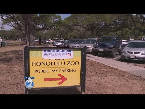 Problems at Honolulu Zoo's municipal parking lot spark city council discussion