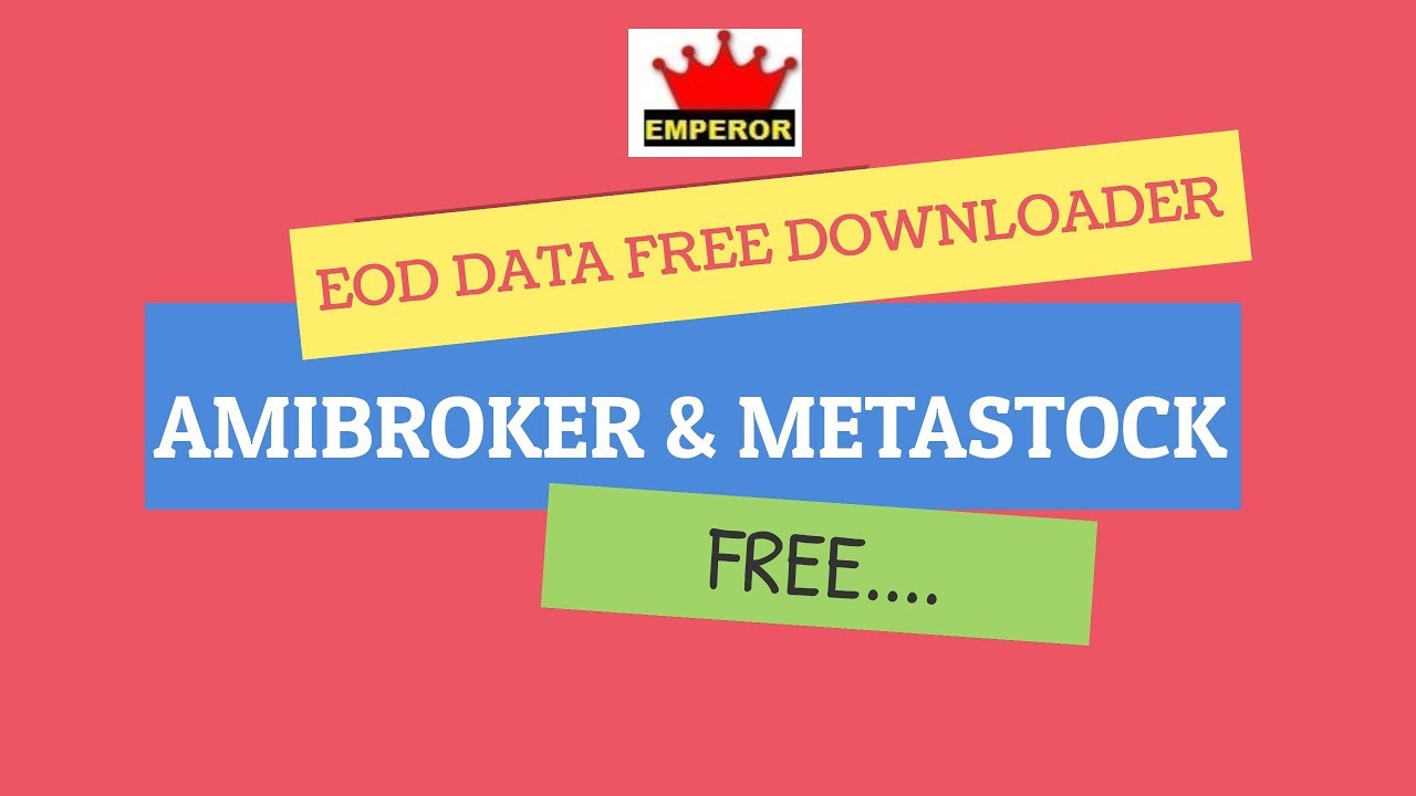 Free metastock data top 3 places to download & is it safe? Youtube.