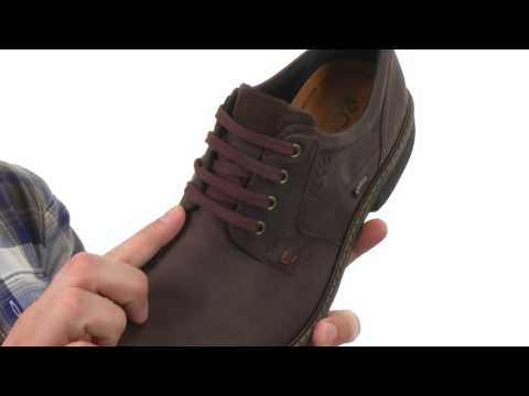 79b928181f ECCO Turn GTX® Plain Toe Tie SKU:8551444 - YouTube