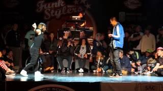 Funk Stylers Battle Vol.5 Whacking semi final 4-2