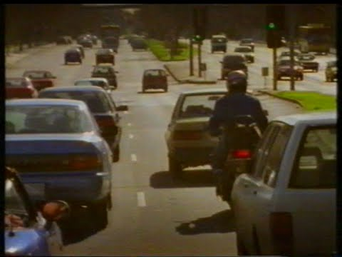 TAC Victoria 1997 motorcycle safety TV commercial