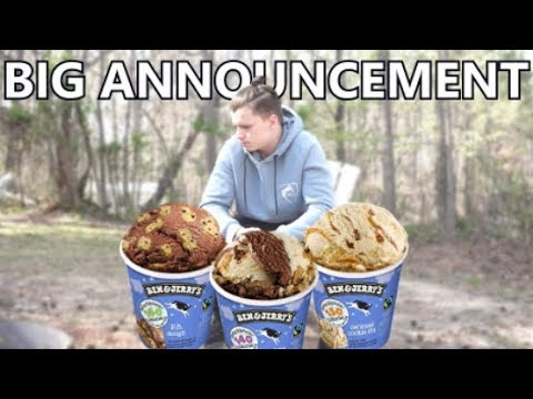 BEN AND JERRY'S DIET ICE CREAM REVIEW | BIG ANNOUNCEMENT