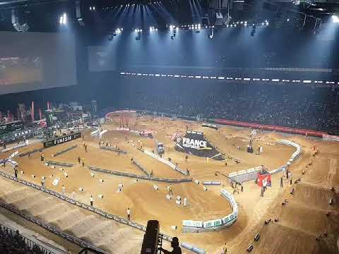 Supercross paris U arena 2017 - YouTube