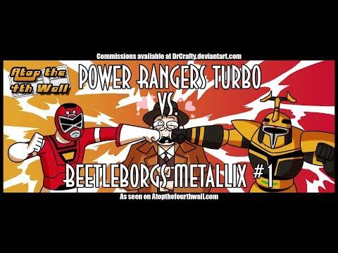 Power Rangers Turbo vs. Beetleborgs Metallix #1 - Atop the Fourth Wall
