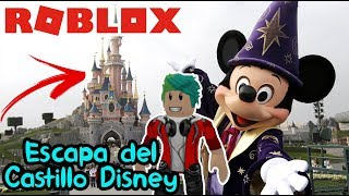 Disney game in Roblox Escape Disney's Castle Roblox Obby Chapter 5