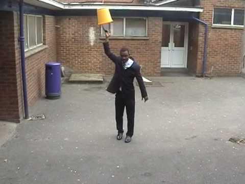 What, look swinging bucket of water