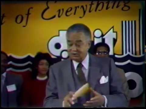 """Do It In Detroit"" Campaign Press Conference (1984)"