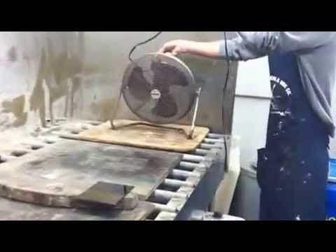 Brennan's plate prep and hardground/line etching demo part 1