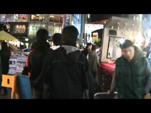 TravelGuide South Korea - Nightlife in Myeongdong