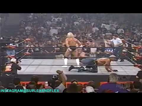 Lex Luger defeats Hollywood Hogan