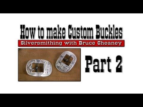Buckle Making - Metal Working - How to make custom buckles - Part 2
