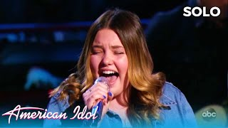 Lauren Spencer-Smith: Girl That Went Viral Singing With Her Dad In His Truck SHINES at Solo Round