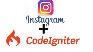 Instagram api with php codeigniter - login with Instagram