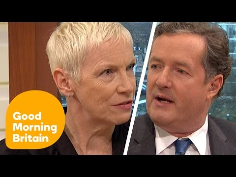Piers Morgan Discusses International Women's Day With Annie Lennox | Good Morning Britain