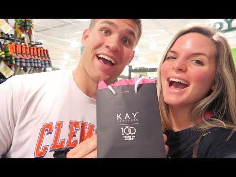 WE BOUGHT OUR WEDDING BANDS! | Casey Holmes