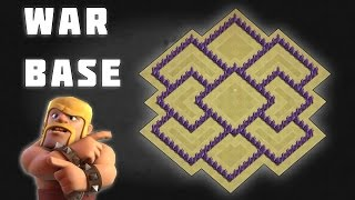 Clash of Clans - Town Hall 7 Defence (CoC TH7) BEST War Base Layout | Defensive Stratergy 2016