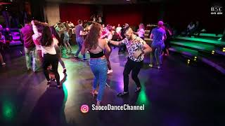 Ernesto Bulnes with Lady Salsa Dancing at Berlin Salsacongress 2018, Monday night 08.10.2018