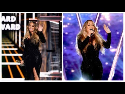 Mariah Carey Talks backstage at the 2019 Billboard Music Awards after Performance