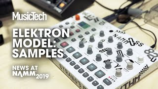 Demo: The most affordable Elektron groovebox #NAMM2019