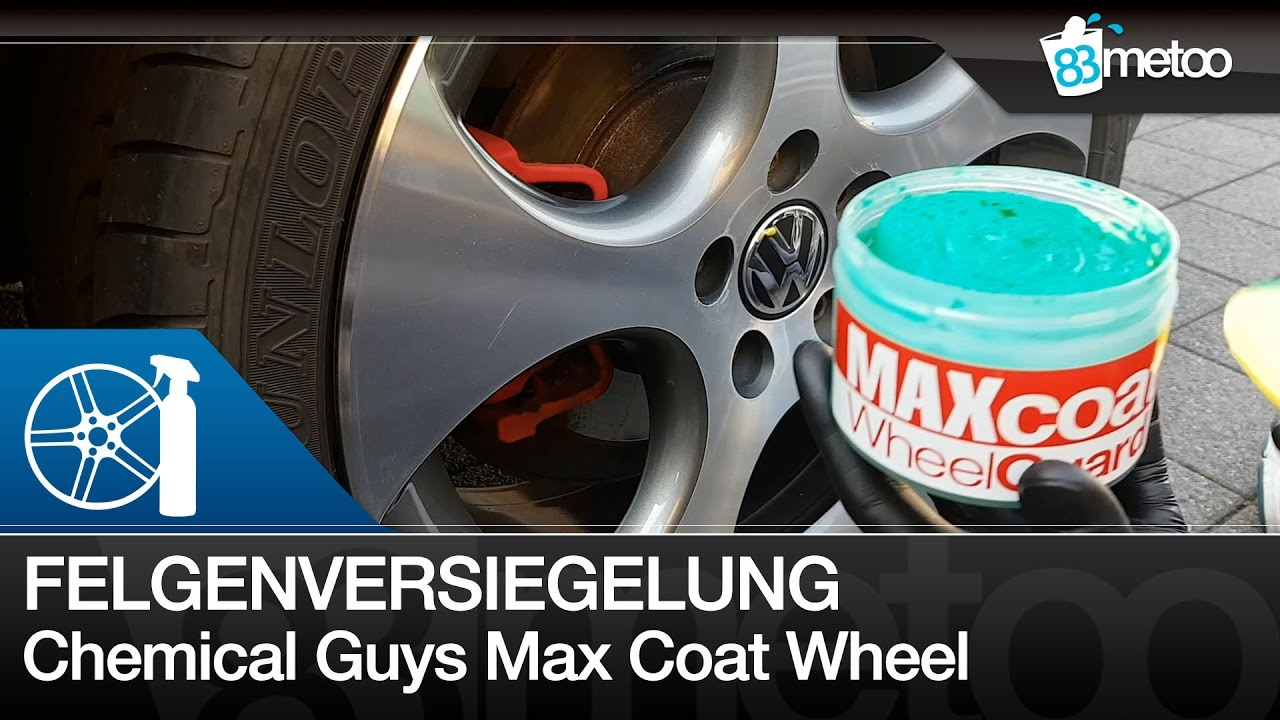 chemical guys max coat wheel guard felgenversiegelung. Black Bedroom Furniture Sets. Home Design Ideas