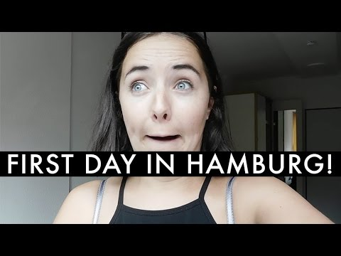 MOVING TO HAMBURG | THE FIRST DAY | ABIKNEE
