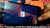 Micromax AQ4501,AQ4502 flashing procedure - YouTube