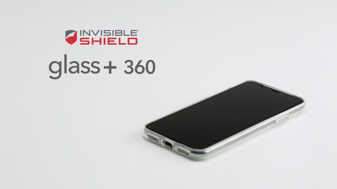 pretty nice f2720 6cbe2 How to Install Glass+ 360 for iPhone X - Invisible Shield